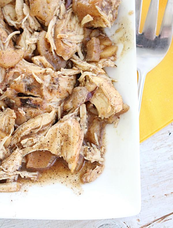Crock Pot Apple Balsamic Chicken
