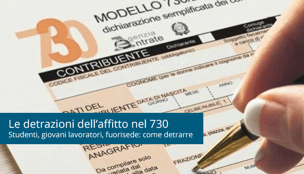 affitto 730 residenza