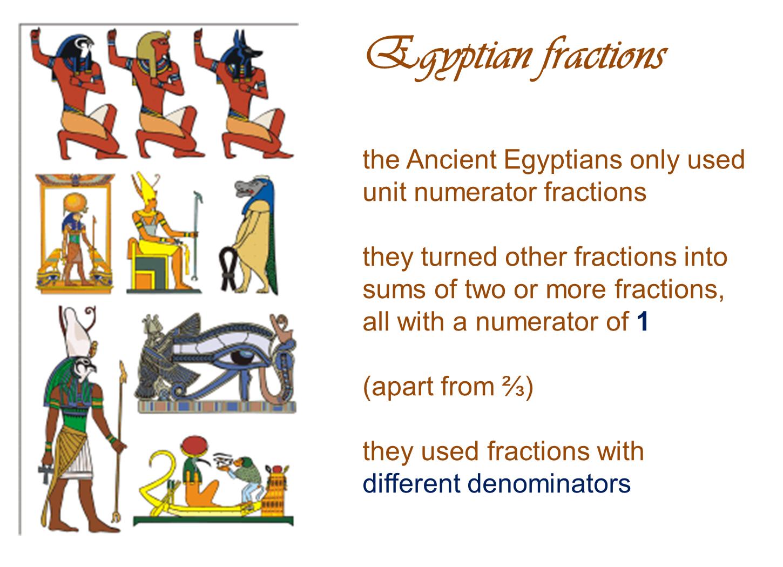 Median Don Steward Mathematics Teaching Egyptian Fractions