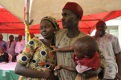 Boko Haram girl with baby was already pregnant before she was abducted by Boko Haram