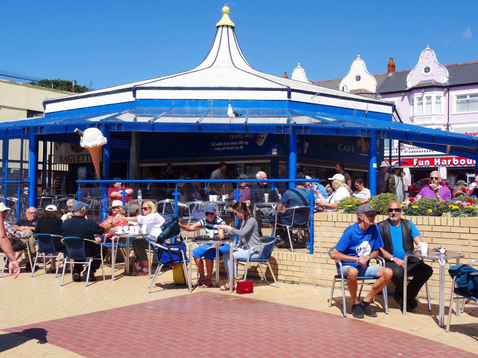 Barry Island Marcos Cafe