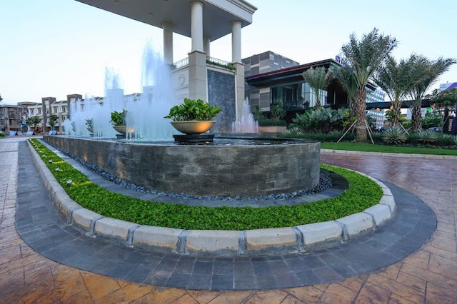 Water Fountain Orchard Park Batam