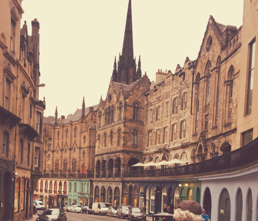 EDINBURGH - 1-day walking tour!