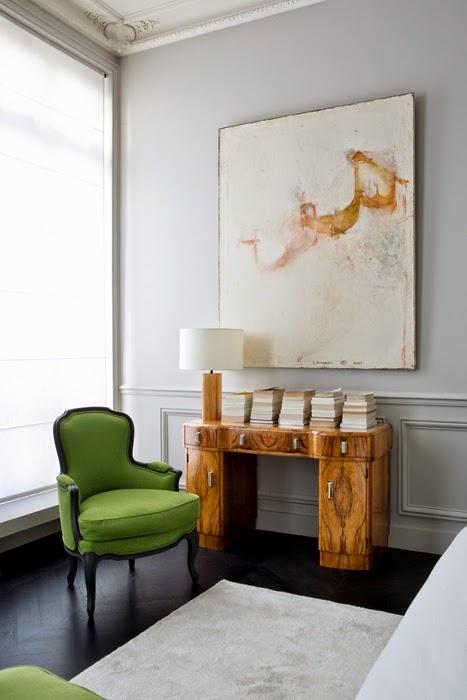 A parisian apartment design bedroom