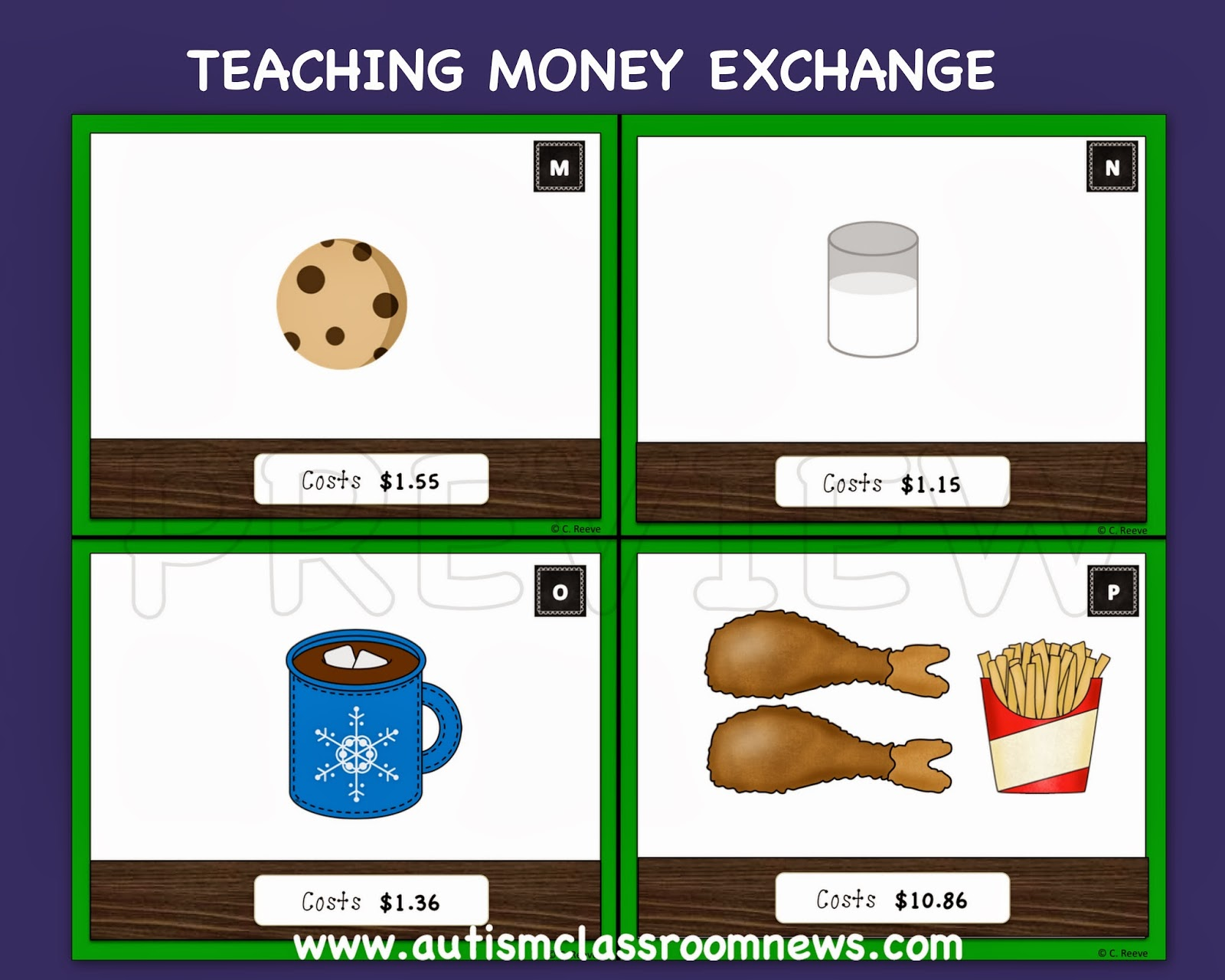 Teaching Money Exchange