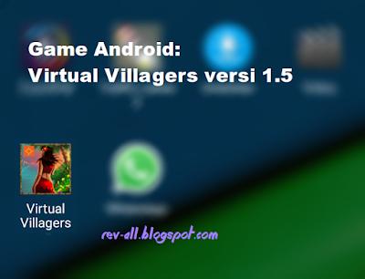 Ikon virtual villagers 1.5 - game android simulasi penduduk desa (rev-all.blogspot.com)