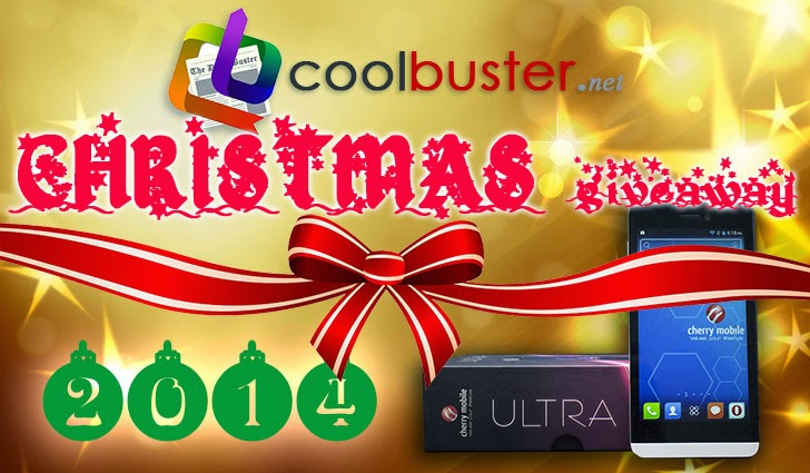 Coolbuster's Christmas Giveaway 2014