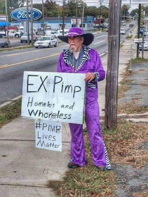 Ex Pimp - Homeless and whoreless #PimpLivesMatter