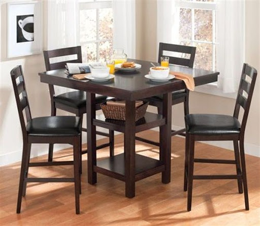 high dining table and chairs