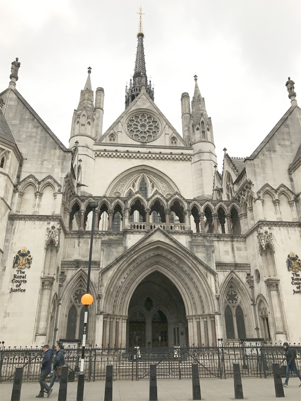 Palace of Justice in London