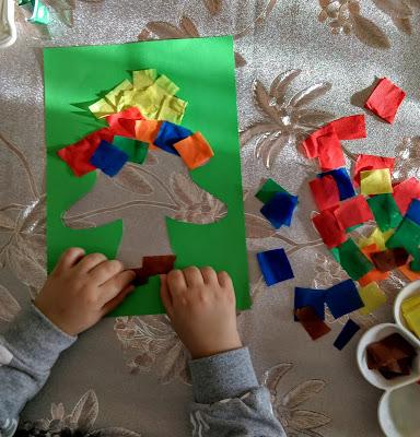 Blogmas day 4/DIY Χριστουγεννιάτικο καδράκι