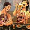 Waspada INILAH yang Terjadi Jika Setelah Makan Langsung Merokok !!! Untuk Istri Tolong Kasih Tau Suaminya yang Merokok Ya!