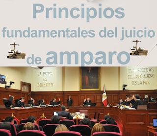 PRINCIPIOS FUNDAMENTALES DEL JUICIO DE AMPARO