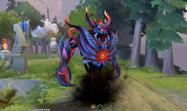 Mod Fathomless Ravager Shadow Fiend