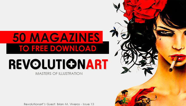 RevolutionArt Magazine 50 PDF Magazines Free Download
