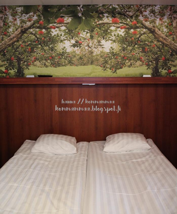 omena-hotelli tampere kokemus testissä perhehuone perheille