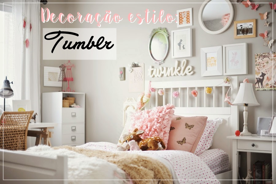 Decorando o quarto no estilo TUMBLR GABY DAHMER ~ Quarto Romantico Tumblr