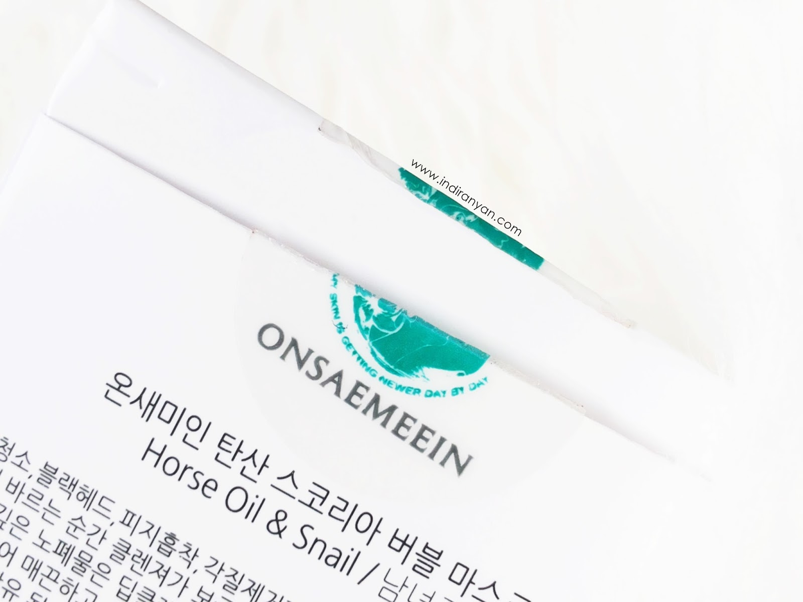 onsaemeein-carbonated-scoria-bubble-mask-pack, review-onsaemeein