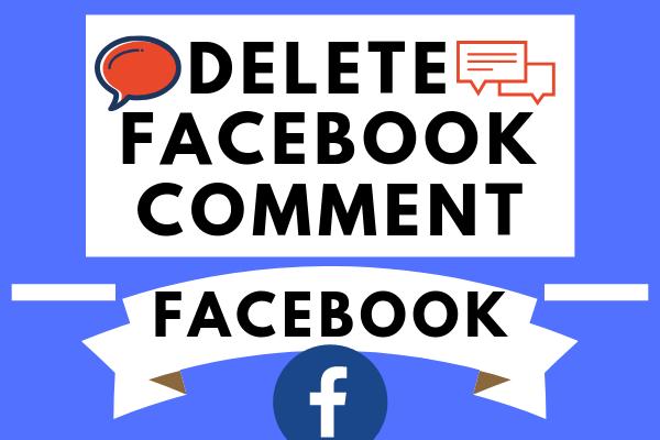 Delete Facebook Comment