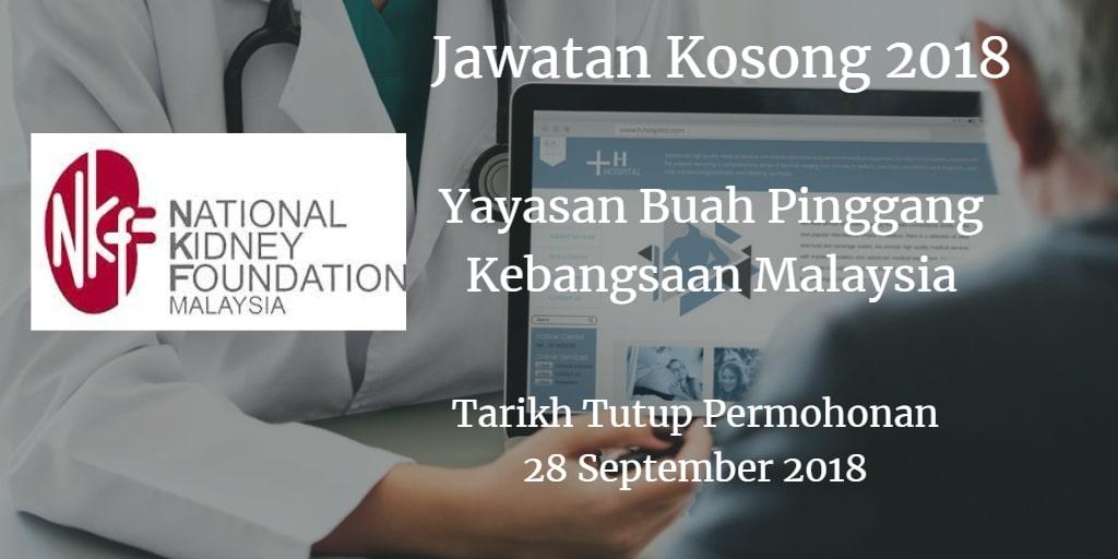 Jawatan Kosong NKF 28 September 2018