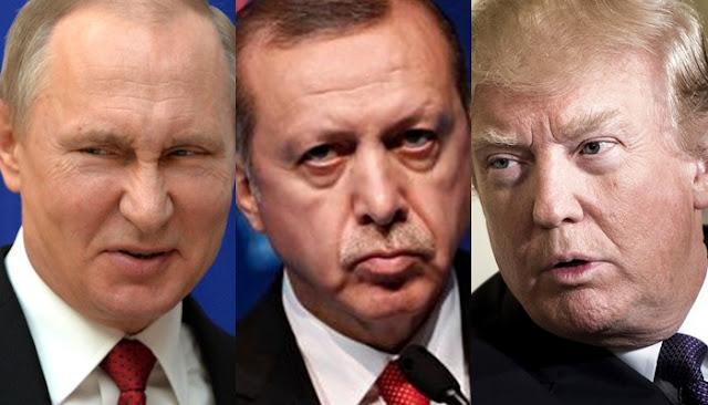 بوتين مخاطبا ترامب كلما ضغطتم على أردوغان أكثر صار أشد قوة