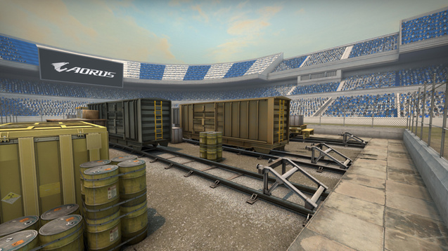 AORUS custom CSGO maps launched on Steam Workshop, who wants to 1v1