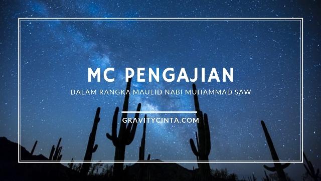 Contoh MC Pengajian Dalam Rangka Maulid Nabi Muhammad SAW