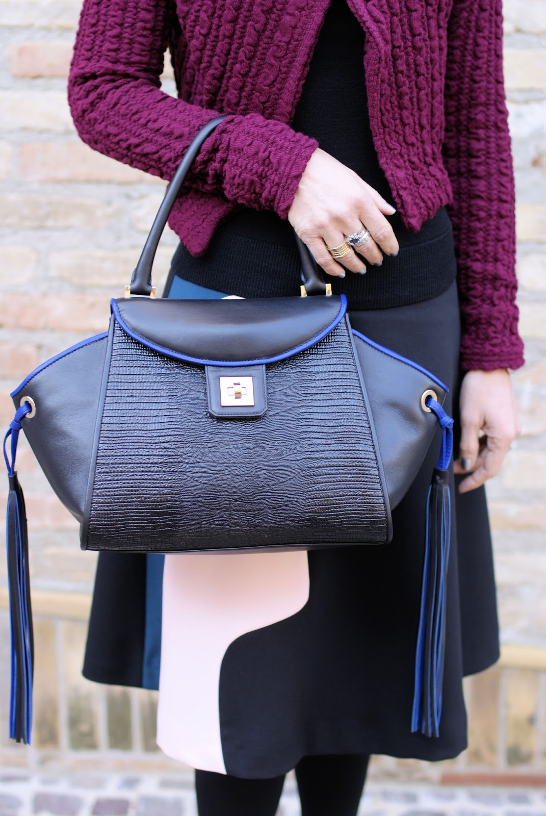 Iaya Asciani Paris bag on Fashion and Cookies fashion blog, fashion blogger style