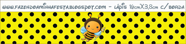Etiquetas de Abejitas Bebé para imprimir gratis.