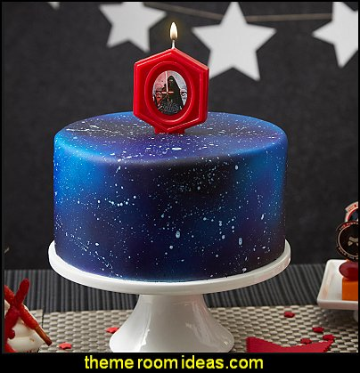 Star Wars Birthday Candle cake decorations star wars