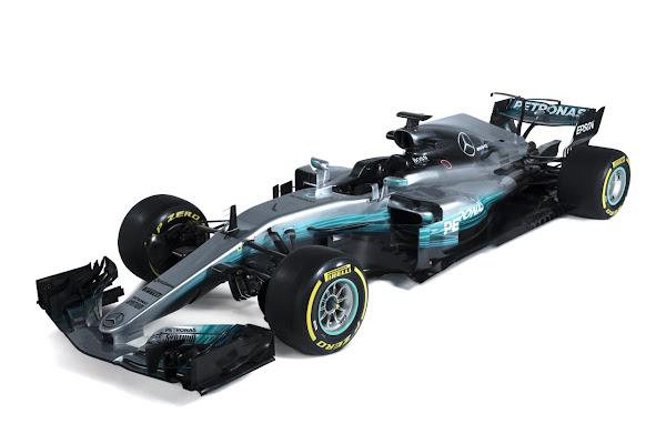 2017 F1 W08 Mercedes AMG Petronas