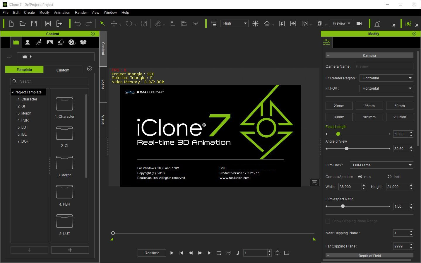 Reallusion - iClone Pro v7.4.2419.1 Full version