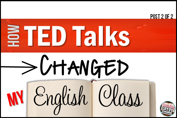 If you're interested in having your students do mock TED talks in your class, then I highly recommend you check out this blog post about how this process went in my 8th grade classroom! I share all of my juicy tips for making the presentations a success, and I share the play-by-play of how it all went down in my class. Click through to read more!