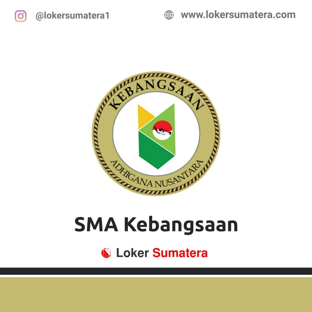 Lowongan Kerja Lampung: SMA Kebangsaan September 2020