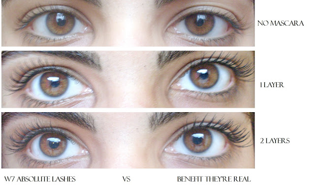 17c6c9c820d Overall, I found both mascaras great for everyday but I like the W7 version  a bit more as it looks more natural in my opinion. Although I must admit  that ...