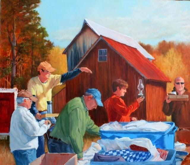 Картины пастелью и маслом. Betsy Kellum