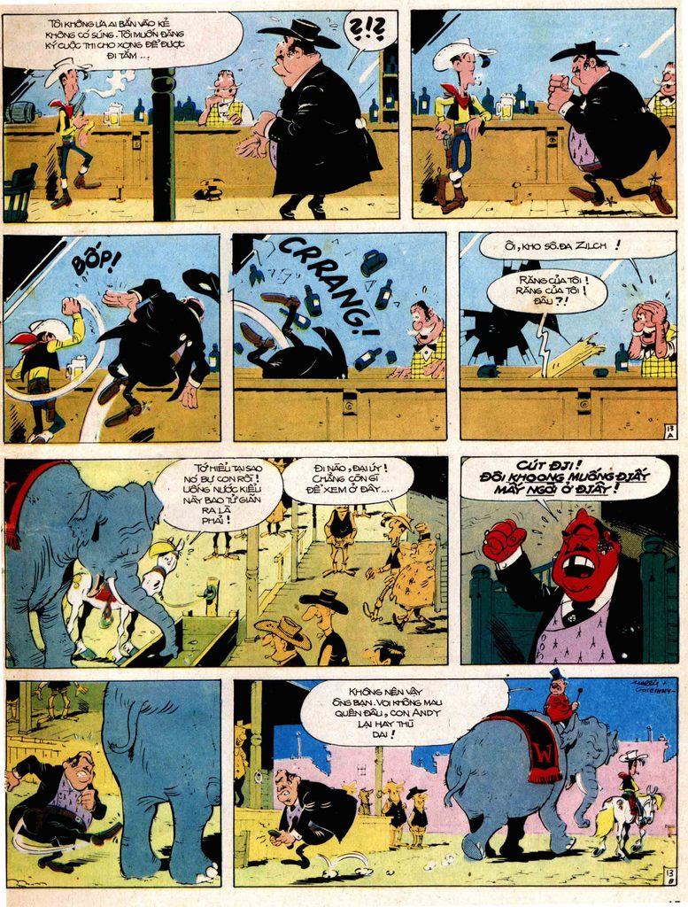 Lucky Luke tap 17 - ganh xiec mien vien tay trang 13
