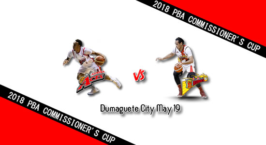 List of PBA Game: May 19 at Dumaguete City 2018 PBA Commissioner's Cup