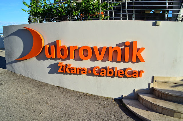 Teleférico de Dubrovnik, Croácia.