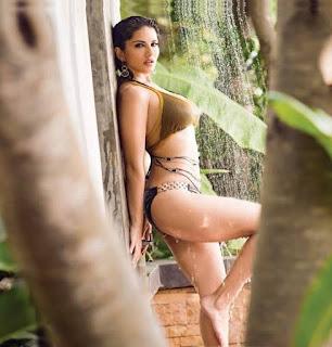 Sunny Leone Sexy Pornstar Exposing her Nipples Massive Ass for Manforce Special Calendar 2016 17