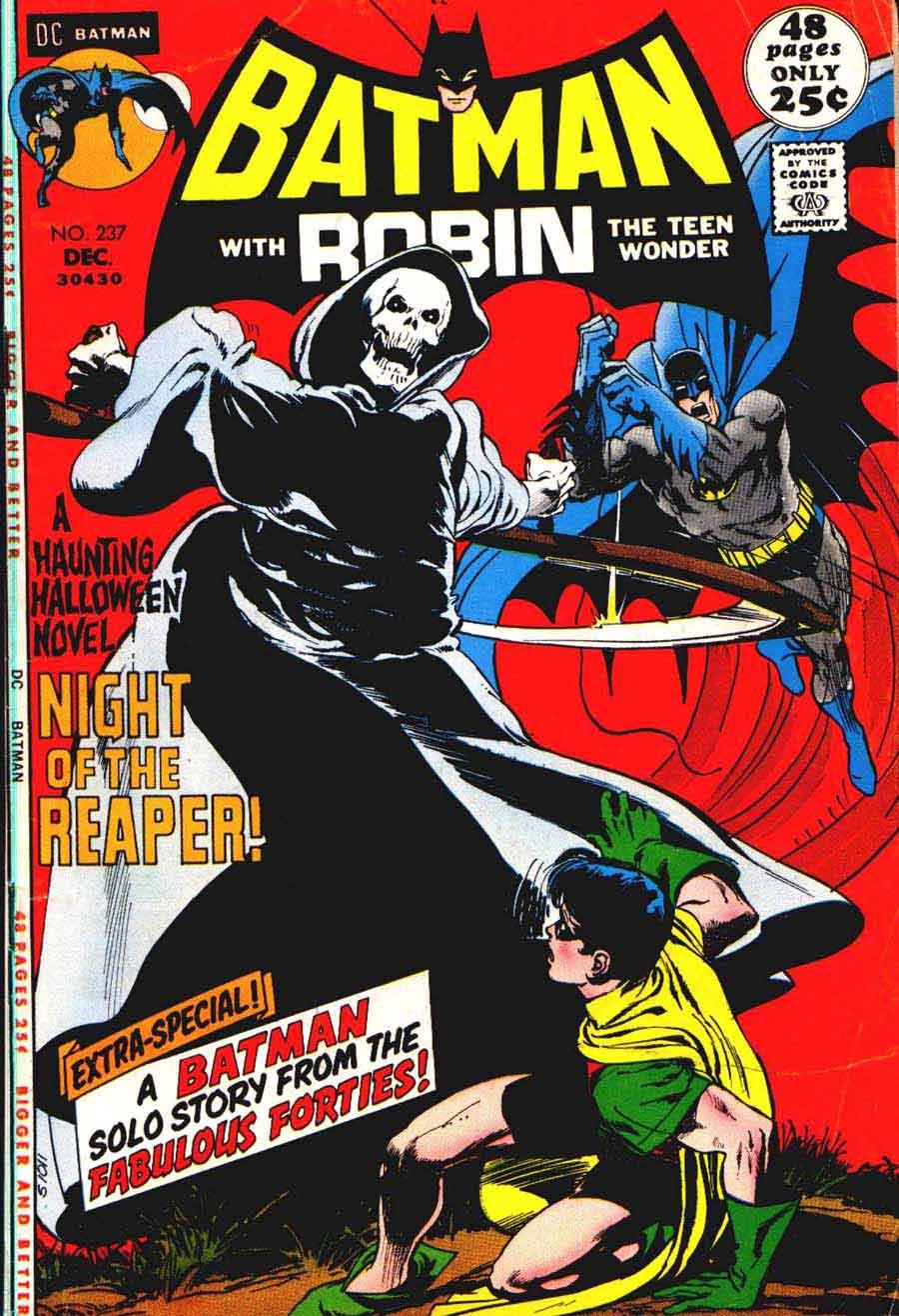 Batman v1 #237 dc comic book cover art by Neal Adams