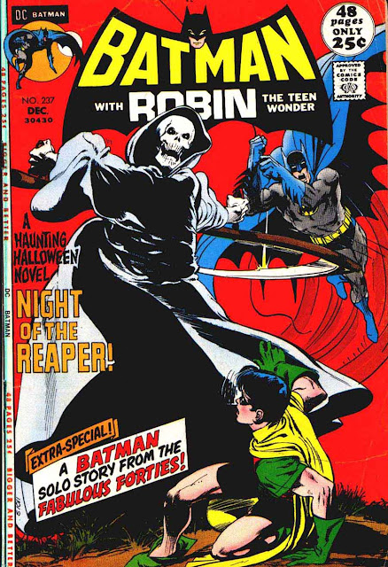 Batman v1 #237 dc comic book cover art by Neal Adams