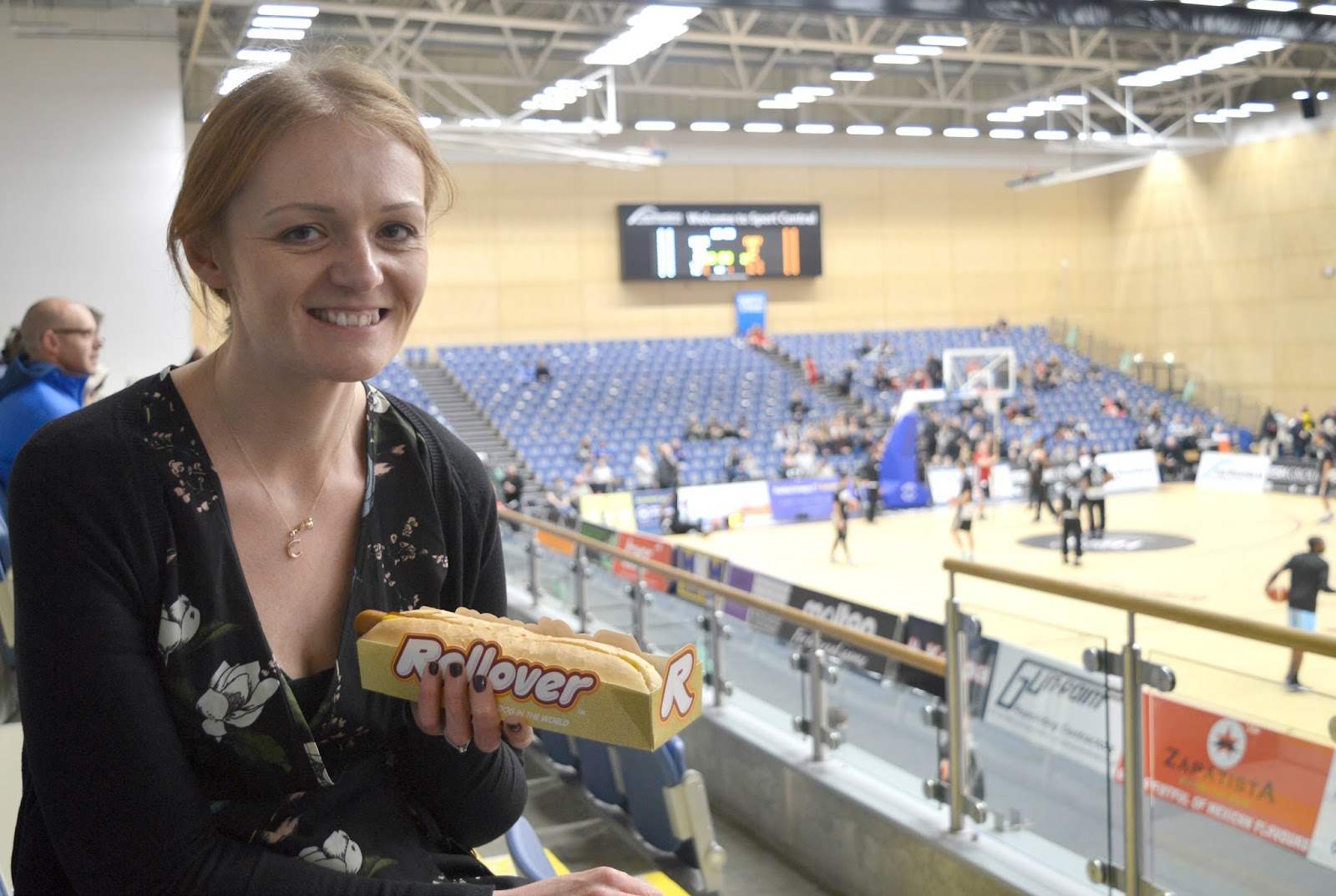 Newcastle Eagles Basketball Game - Hot Dog