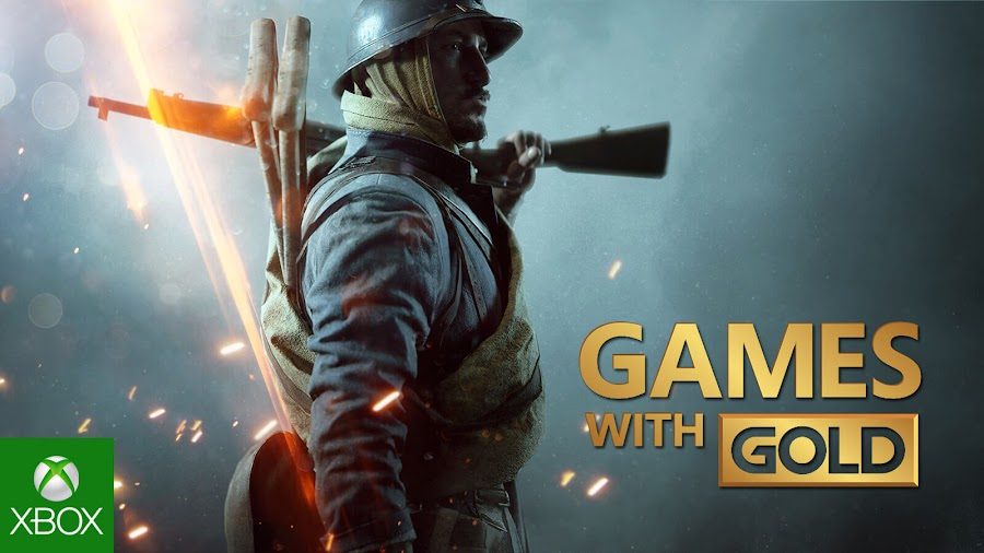 battlefield 1 xbox live gold free game