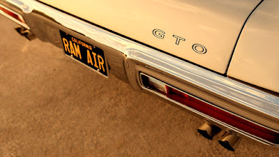 1970 Pontiac LeMans GTO Ram Air IV 400 Taillight & Emblem
