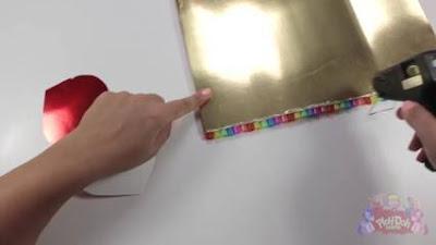 cara membuat kotak pensil dari sedotan bekas