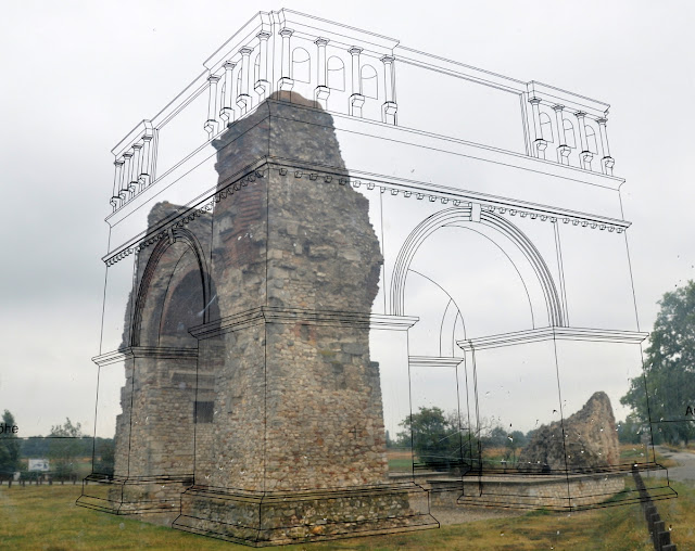rzymska brama w Carnuntum (Heidentor)