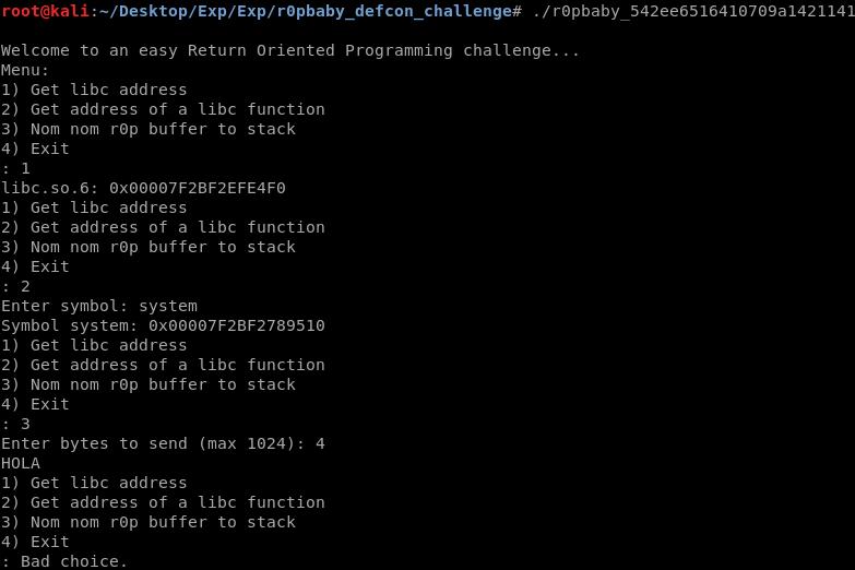 ROPeando para bypassear NX y ASLR con libc : hackplayers