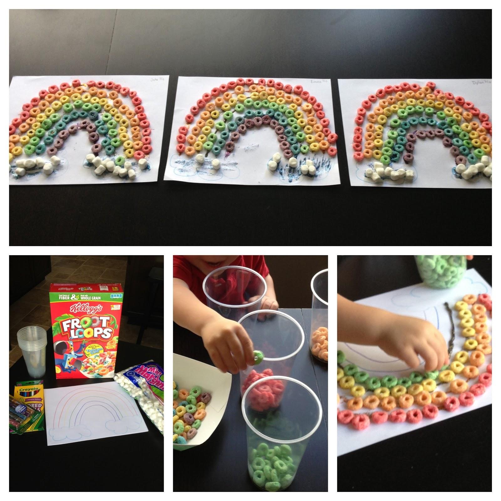 Party Of 5 Snacktivity Fruit Loop Rainbows