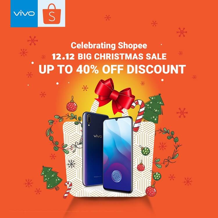 Vivo Joins Shopee for 12.12 Christmas Sale